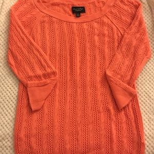 American Eagle Coral Sweater